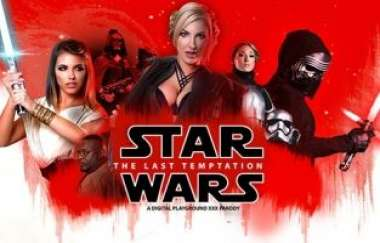Adriana Chechik, Georgie Lyall - Star Wars: The Last Temptation A Dp Xxx Parody 2017 : Full Movie