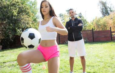 Alina Lopez, Keiran Lee - Practice Makes Her Purrrrfect - Teens Like It Big