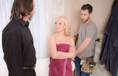 Aaliyah Love, Seth Gamble - I Caught My Wife Fucking The Help, Scene 4