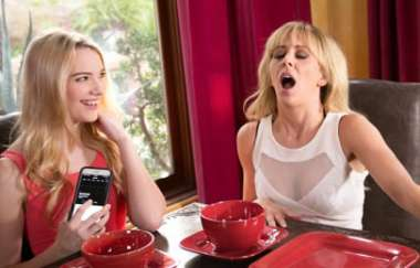 Cherie Deville, Kenna James - Caught With My Remote - Mommysgirl