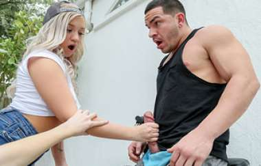 Anastasia Knight, Bailey Brooke - Threesome With Hot Bike Thief - Share My Bf
