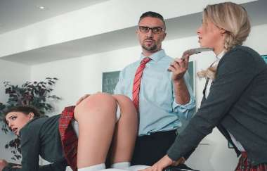 Kristen Scott - Sir Keirans School Of Anal Training Part 2