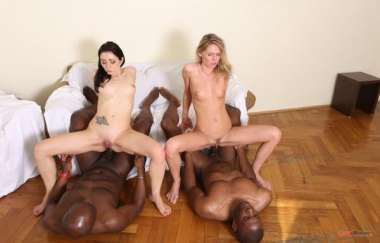 Claudia Mac, Valentina Bianco - Those Two Sluts Have Real Passion For Big Black Cock Iv063