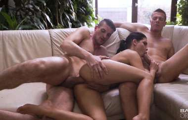 Annie Wolf - Has A Double The Pleasure Threesome In This Bang Original Series