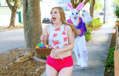 Dolly Leigh - Stealing From The Easter Bunnys Basket - Stranded Teens
