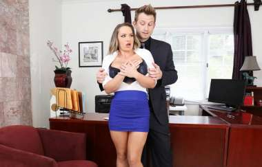 Cali Carter - Pervy Boss Blackmails Slutty Secretary