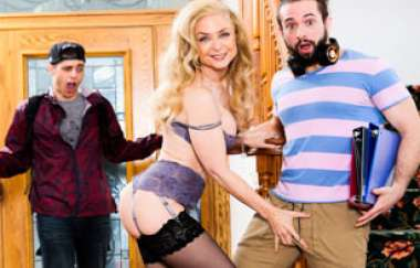 Nina Hartley, T Stone - Horny Grannies Love To Fuck 13, Scene 4