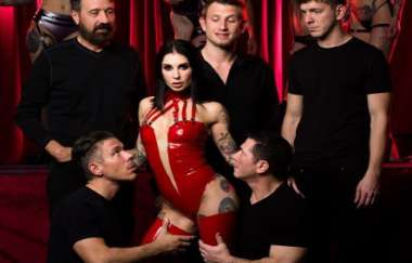 Joanna Angel - Gangbang - As Above So Below 2