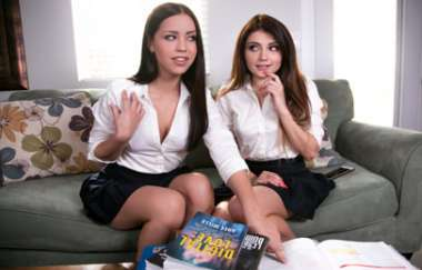 Adria Rae, Alina Lopez - Schools Out: The Tutor Redux