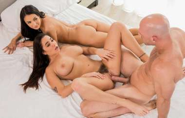 Karlee Grey, Sofi Ryan, Johnny Sins - Our First Celebrity Hook-up