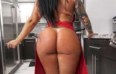 Monica Santhiago, Mandingo  - Huge Brazilian Ass - Ass Parade